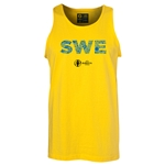 Sweden Euro 2016 Elements Tank Top (Yellow)