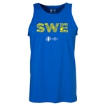Sweden Euro 2016 Elements Tank Top (Royal)