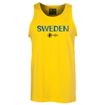 Sweden Euro 2016 Core Tank Top (Yellow)