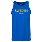 Sweden Euro 2016 Core Tank Top (Royal)