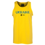 Ukraine Euro 2016 Core Tank Top (Yellow)