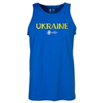 Ukraine Euro 2016 Core Tank Top (Royal)