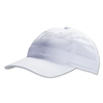 Unstructured Adjustable Cap (White)