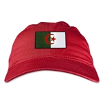Algeria Unstructured Adjustable Cap (Red)