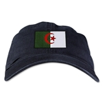 Algeria Unstructured Adjustable Cap (Black)