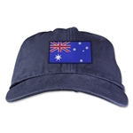 Australia Unstructured Adjustable Cap (Navy)