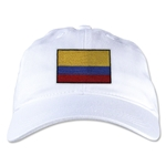 Colombia Unstructured Adjustable Cap (White)