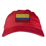 Colombia Unstructured Adjustable Cap (Red)