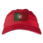 Portugal Unstructured Adjustable Cap (Red)
