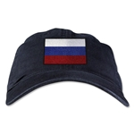 Russia Unstructured Adjustable Cap (Black)