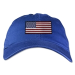 USA Unstructured Adjustable Cap (Royal)