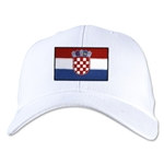Croatia Flexfit Cap (White)