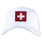 Switzerland Flexfit Cap (White)