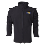 Bosnia-Herzegovina Performance Softshell Jacket (Black)