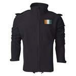 Cote d'ivoire Performance Softshell Jacket (Black)