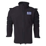 Greece Performance Softshell Jacket (Black)