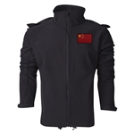 China Performance Softshell Jacket (Black)
