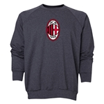 AC Milan Logo Crewneck Fleece (Dark Gray)
