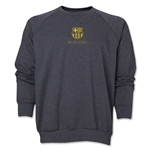 Barcelona Small Logo Crewneck Sweatshirt (Dark Gray)