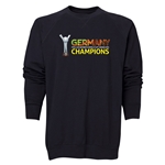 Germany FIFA U-20 Women's World Cup Canada 2014 Champions Crewneck Fleece (Black)