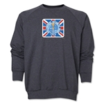 1966 FIFA World Cup England Historical Poster Crewneck Fleece (Dark Grey)