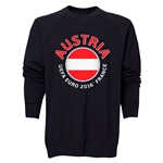 Austria Euro 2016 Fashion Crewneck Sweatshirt (Black)