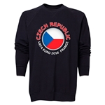 Czech Republic Euro 2016 Fashion Crewneck Sweatshirt (Black)