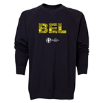 Belgium Euro 2016 Elements Crewneck Sweatshirt (Black)