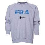 France Euro 2016 Elements Crewneck Sweatshirt (Grey)