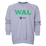Wales Euro 2016 Elements Crewneck Sweatshirt (Grey)