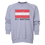 Austria Euro 2016 Fashion Crewneck Sweatshirt (Grey)