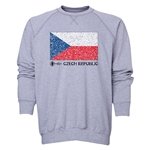 Czech Republic Euro 2016 Fashion Crewneck Sweatshirt (Grey)