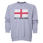 England Euro 2016 Fashion Crewneck Sweatshirt (Grey)