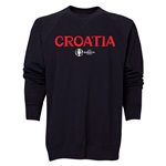 Croatia Euro 2016 Core Crewneck Sweatshirt (Black)
