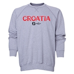 Croatia Euro 2016 Core Crewneck Sweatshirt (Grey)