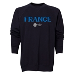 France Euro 2016 Core Crewneck Sweatshirt (Black)