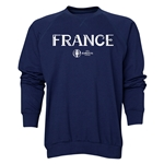 France Euro 2016 Core Crewneck Sweatshirt (Navy)