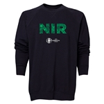 Northern Ireland Euro 2016 Elements Crewneck Sweatshirt (Black)