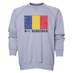 Romania Euro 2016 Fashion Crewneck Sweatshirt (Grey)