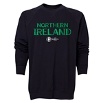 Northern Ireland Euro 2016 Core Crewneck Sweatshirt (Black)