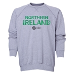 Northern Ireland Euro 2016 Core Crewneck Sweatshirt (Grey)