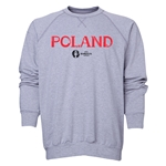 Poland Euro 2016 Core Crewneck Sweatshirt (Grey)