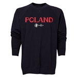 Poland Euro 2016 Core Crewneck Sweatshirt (Black)