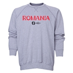 Romania Euro 2016 Core Crewneck Sweatshirt (Grey)