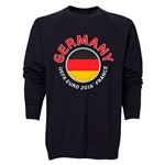 Germany Euro 2016 Fashion Crewneck Sweatshirt (Black)
