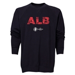 Albania Euro 2016 Elements Crewneck Sweatshirt (Black)
