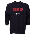 Germany Euro 2016 Elements Crewneck Sweatshirt (Black)