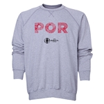 Portugal Euro 2016 Elements Crewneck Sweatshirt (Black)