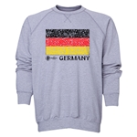 Germany Euro 2016 Fashion Crewneck Sweatshirt (Grey)