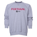Portugal Euro 2016 Core Crewneck Sweatshirt (Black)